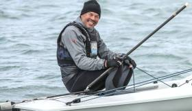 Mark Lyttle leads into the final day of racing at the Laser Grand Master World Championships