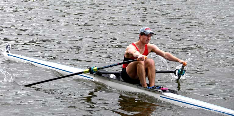 Andrew Sheehan is Fastest Sculler as Rowing Resumes with 'Shanty Sprints'
