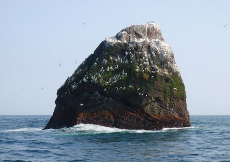 File image of Rockall in the North Atlantic