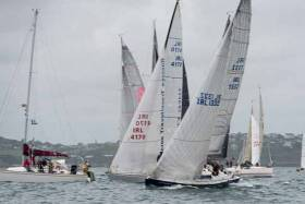 Racing at the 2017 ICRA National Championships at Royal Cork Yacht Club