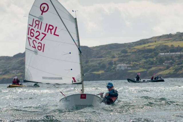 Cream Rises to the Top at the Optimist National Championships at Howth Yacht Club