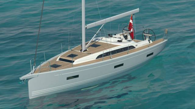 The all-new X40 is a forty-foot performance cruising yacht and will be the smallest model in the pure X range