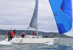 Joker 2 skippered by John Maybury leads the J109 National Championships