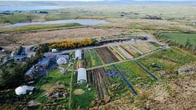 The current organic vegetable farm near Lahinch feeds 50 local families for most of the year