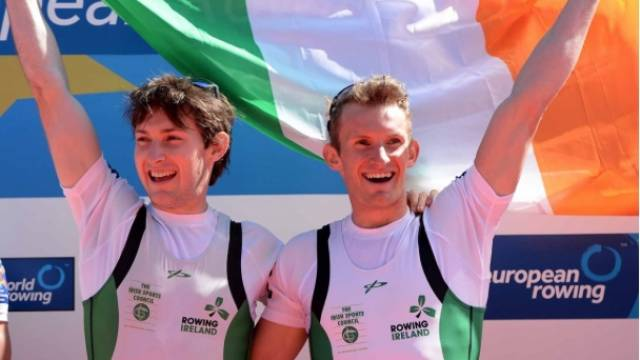 Paul and Gary O'Donovan, European Champions 2016.