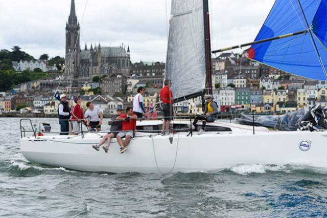 Top Irish offshore yacht Rockabill from Dublin Bay racing in Cork Week 2016