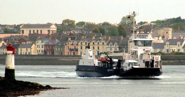 A new car ferry, MV Strangford II (28 vehicles/260 passengers) is to enter service this autumn, joining the 2001 built Portaferry II seen underway in the 'Narrows'
