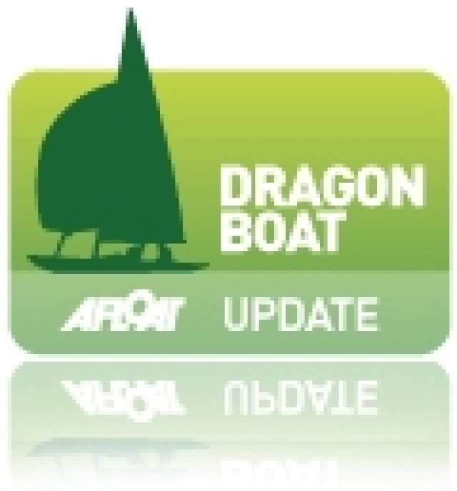 Dun Laoghaire Trio Stay Mid-Fleet at Dragon Worlds