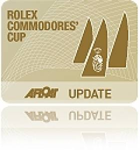 2012 Commodores' Cup Event Announced by RORC