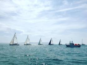 J80 racing at Royal Lymington