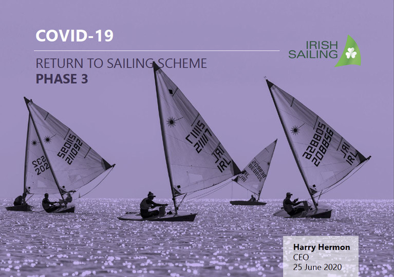 "Phase 3 of Irish Sailing's ""Return to Sailing Scheme"" is Published (Download Here!)"