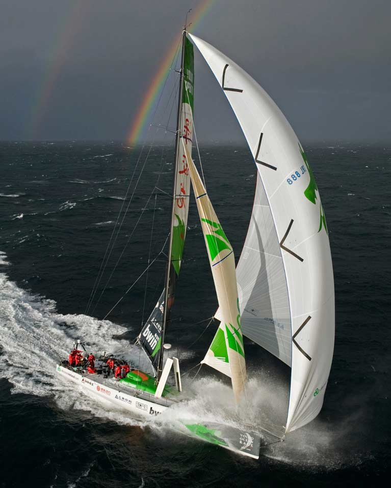 Ireland's Green Dragon was skippered by Britain's Ian Walker