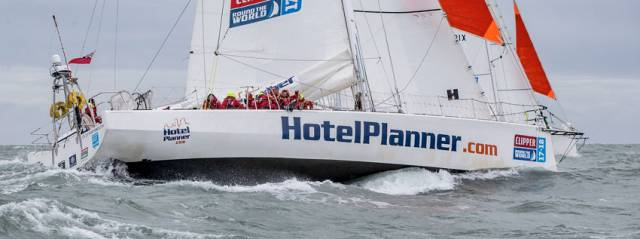 Time Penalty For Conall Morrison's Clipper Race Boat After Race 6 Exclusion Zone Breach