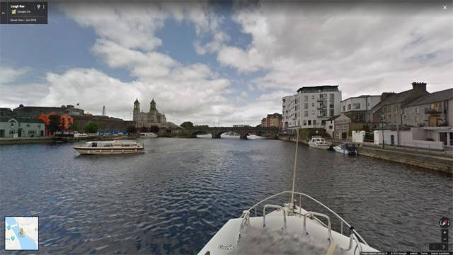 Explore The River Shannon Virtually Via Google Maps