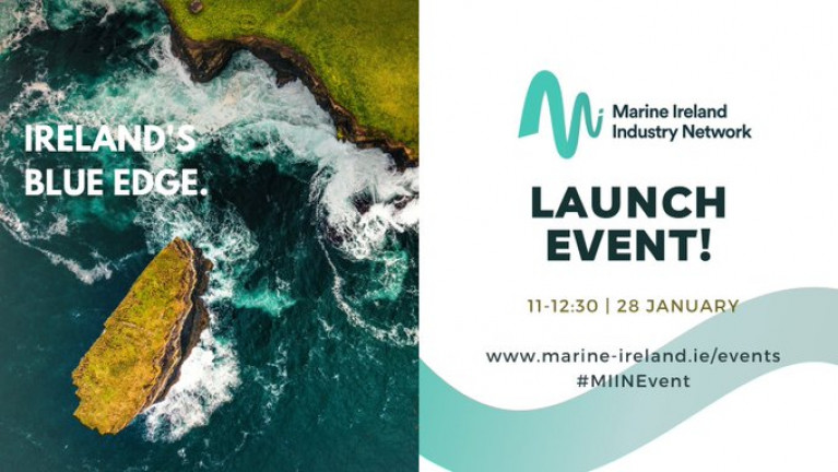 Marine Ireland Industry Network Launch Website With Online Event (Thursday, 28 January)