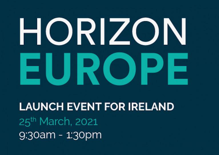 Irish Virtual Launch Event for Horizon Europe This Thursday