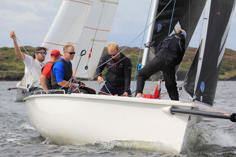 Winner Robert O'Leary was flying a North 3Di mainsail and large jib