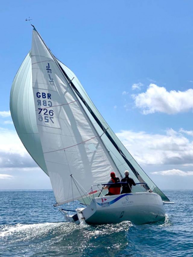 "Is proper sunshine sailing a ""Mission Impossible"" in this woeful summer? Not so. Paul Reilly and Davy Howard find extra-luminous sunshine on Saturday afternoon, racing the HYC-owned J/80 Mission 43 in the Aqua Two-Hander Challenge off the Fingal coast"