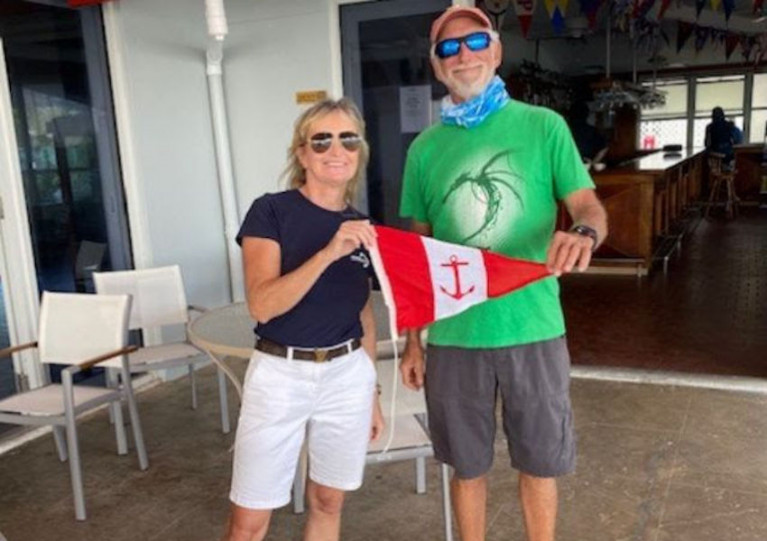 Howth Yacht Club Member Hands Over Burgee In Virgin Islands as Family's Passage West Continues