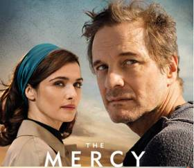The Mercy stars Colin Firth and Rachel Weisz and will be released here on Friday