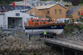 Newcastle RNLI's all-weather lifeboat Eleanor and Bryant Girling