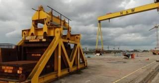 The Harland & Wolff shipyard