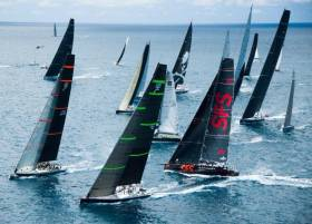 A spectacular start in Antigua is expected on Monday 19th February as the record-breaking fleet of 88 boats sets off on the 10th edition of the RORC Caribbean 600
