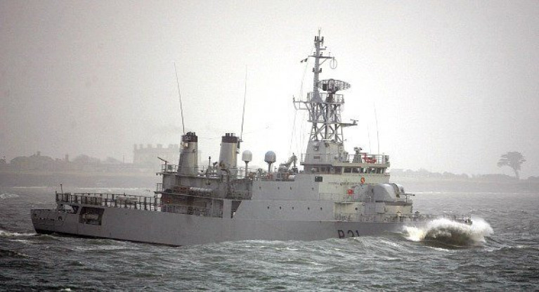 File image of LÉ Eithne