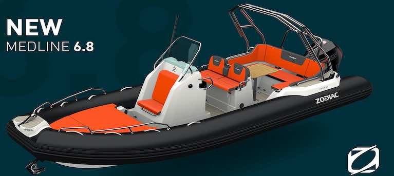MGM Boats Launch Zodiac's New Medline 6.8 RIB