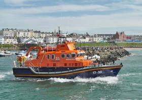 Portrush RNLI's all-weather lifeboat William Gordon Burr