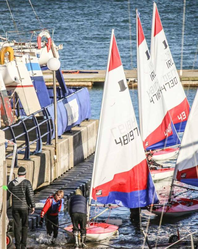 Dun Laoghaire's National Yacht Club will receive €142,375 to increase women and teenagers participation in sailing