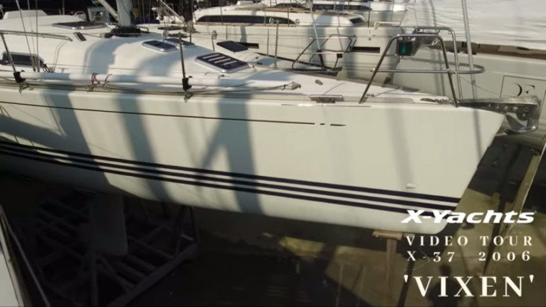 X-Yachts Gives Video Tour Of Pre-Owned X-37 'Vixen'