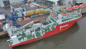 The Fugro Venturer is the newest of the geo-intelligence services company's purpose-designed survey vessels