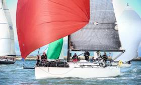 In an amendment to the DBSC sailing instructions, Cruisers 0/1, such as Ronan Harris's J109 Jigamaree from the Royal Irish Yacht Club, will have a preparatory signal at 13:45 on Saturday