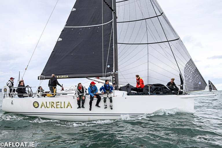 Aurelia First to Make Tacking Move in Fastnet 450's Ocean Chess Game
