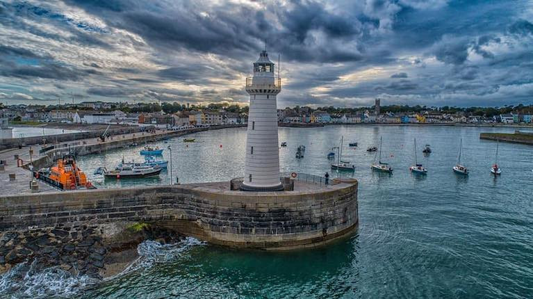Donaghadee Harbour on thre County Down coast