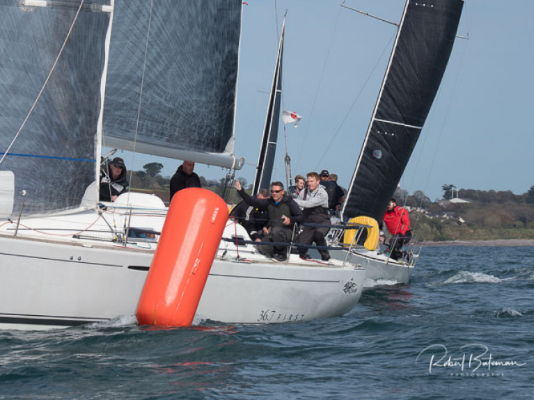 Kieran Dorgan's Altair racing in today's first races of Royal Cork's AIB Autumn Series. Scroll down for photo gallery