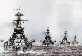 The Battle of Jutland in 1916 was fought off the coast of Denmark