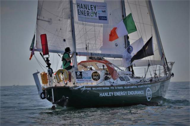 Irish Solo Sailor Gregor McGuckin Dismasted in '70–Knot Storm' (Satellite Call Audio Here!)