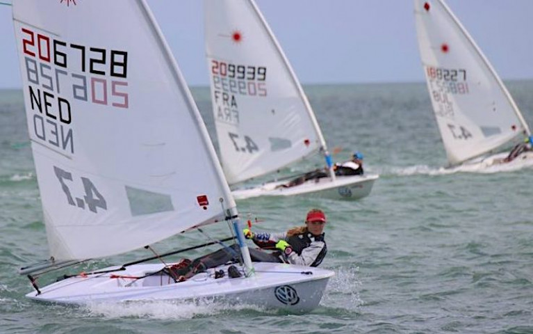 Royal St George & National Yacht Clubs' Laser 4.7 Youth Worlds 2021 Battle on Despite Post-Pandemic Uncertainties