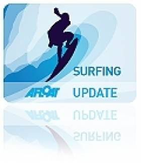Donegal Surfers Celebrate Top Showing at Easkey