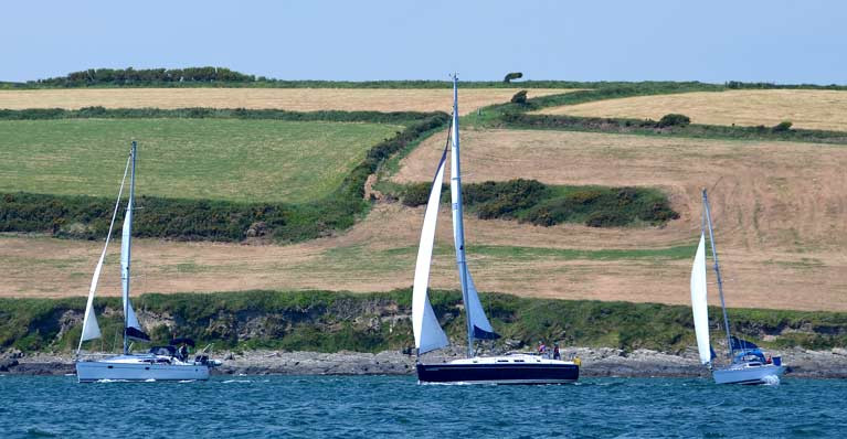 Kinsale Yacht Club Cruises in Company