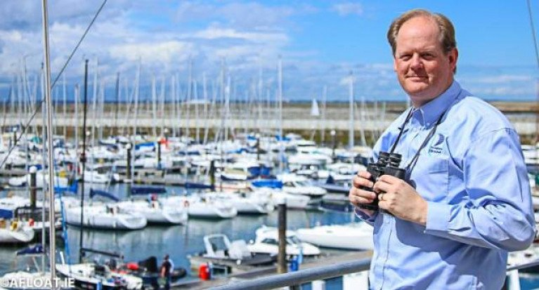 Irish Marine Federation chairman Paal Janson at Dun Laoghaire's waterfront