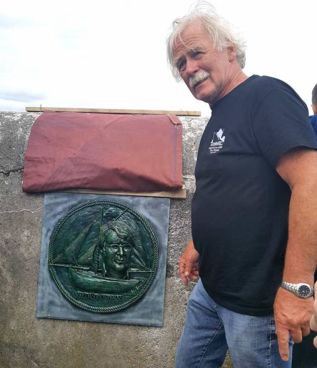 Cruinniú na mBád Founder Immortalised in Kinvara