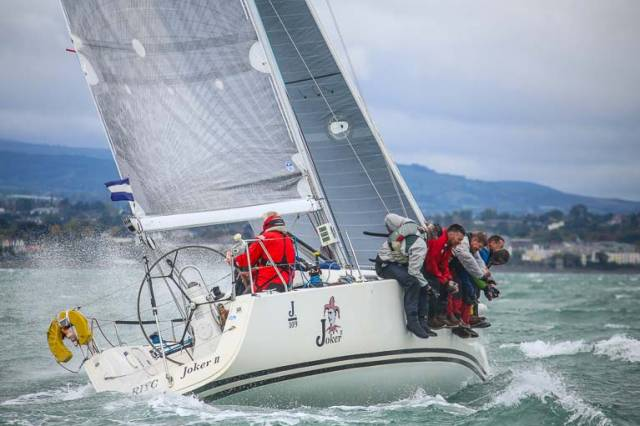 J109 Joker II was Sunday's race winner on Dublin Bay