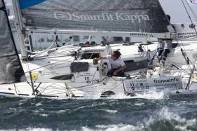 Tom Dolan is currently in 12th position with co-skipper Tanguy Bouroullec on their yacht Smurfit Kappa-Cerfrance