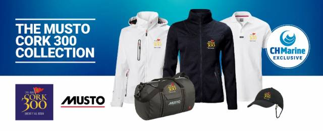 Get The Musto Cork 300 Collection Only At CH Marine
