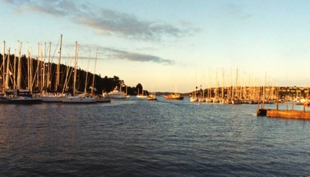 Crosshaven is a mecca for sailing and cruising in Cork Harbour