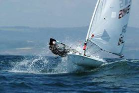 Howth's Aoife Hopkins will race in the Laser Radial at the World Championship in August