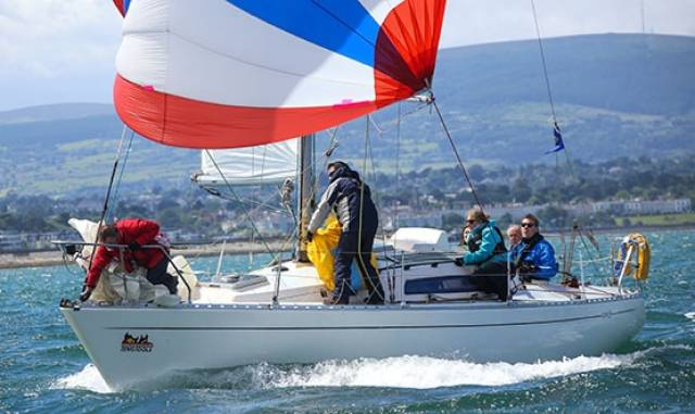 Sigma 33s are racing from Dublin Bay to Greystones in County Wicklow tomorrow